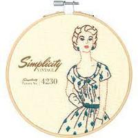 Simplicity Vintage Embroidery kitset -