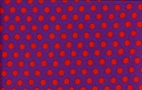 Spots Purple   1/2 Metre Length