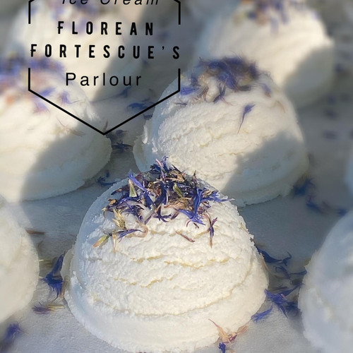 Earl Grey and Lavender Ice Cream Truffle