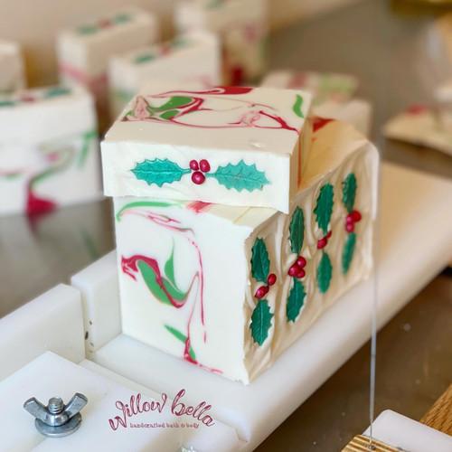 Merry Mistletoe Cold Process Soap
