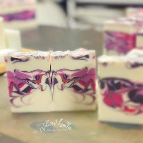 Berries and Cream Cold Process Soap