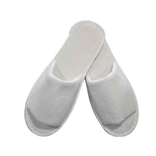 Guest Slippers - terry, open toe