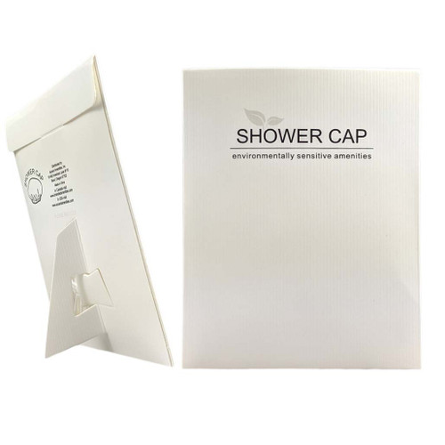 Shower Caps - White