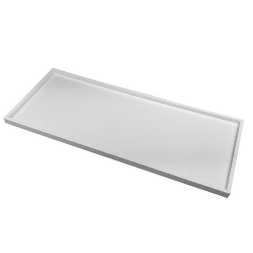 Amenity Tray, white rectangle