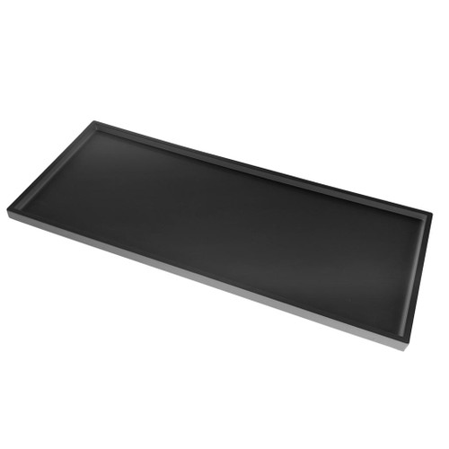 Amenity Tray, black rectangle