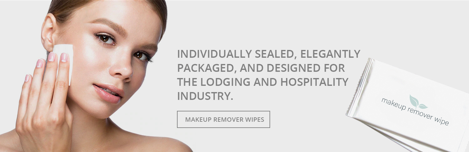 Spa Scents Makeup Remover Wipes for Hotels, Lodges, Vacation Rentals, and more