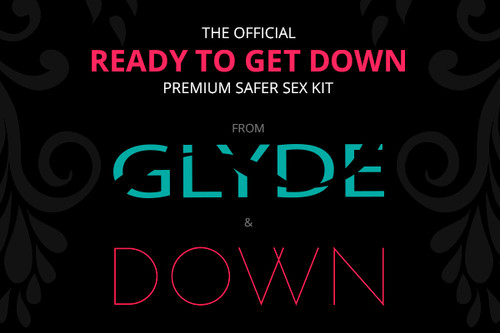 GLYDE & DOWN Premium Safer Sex Kit