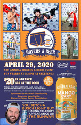 2020 Boxers & Beers Supporting The Bismarck Cancer Center Foundation!