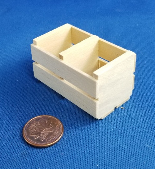 1/12 Scale Wooden Crate