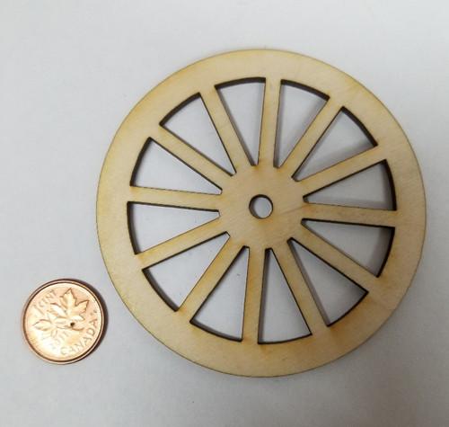 "3"" Wooden Wheel"