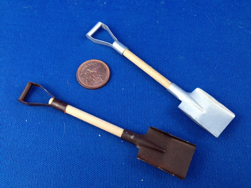 1/12 Scale Shovel (Rusty or Shiny)