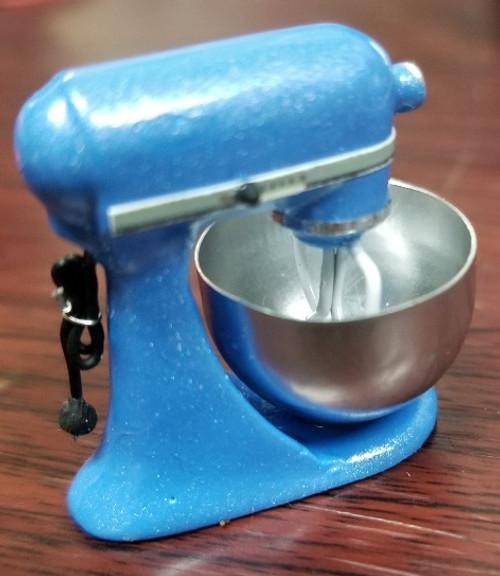 Medium Blue Electric Mixer