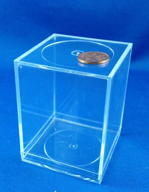 """Plastic Cube - 3"""" x 2 1/4"""""""