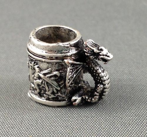 Metal Dragon Mug
