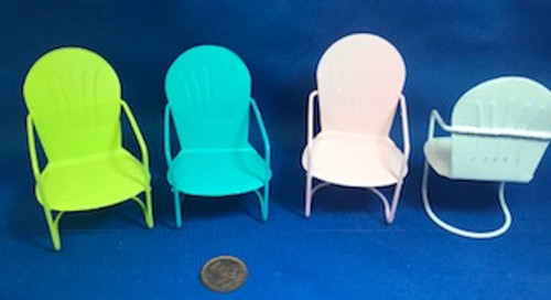 Metal Chair - Choice of Colour