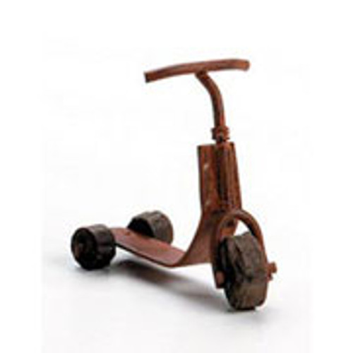 1/12 Scale Miniature Rusty Scooter