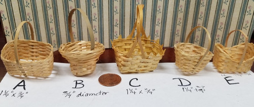 Woven Basket - Choice of style