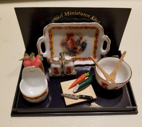 Reutter Porzellan -   Rooster Kitchen Set