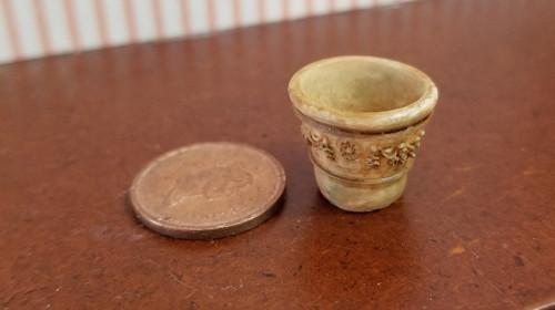 Aged Garden Pot - /extra Small