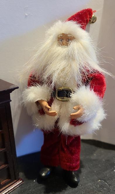 Miniature 1/12 Scale Poseable Santa
