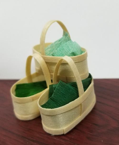 6 or 8 Quart Basket - Set of  3