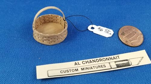 Al Chandrannait Handcrafted Basket - Round