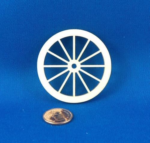 "2 1/2"" Wooden Wheel"