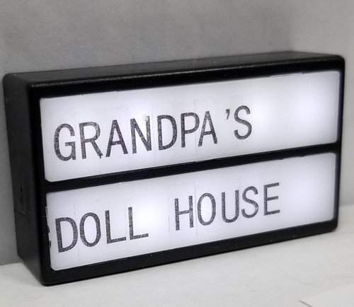 Battery Powered LED Sign - You Personalize