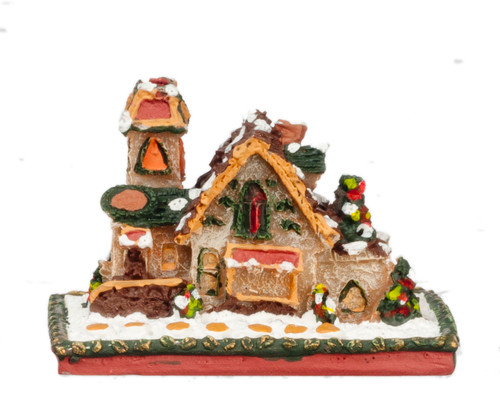 Gingerbread House on Base