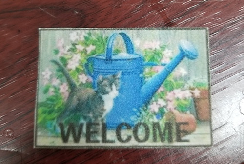 Welcome Mat - Cat & Can