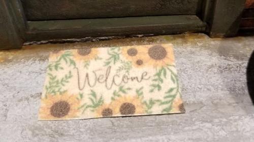 Welcome Mat - Sunflowers