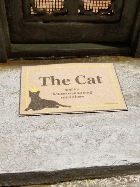 Welcome Mat - The Cat