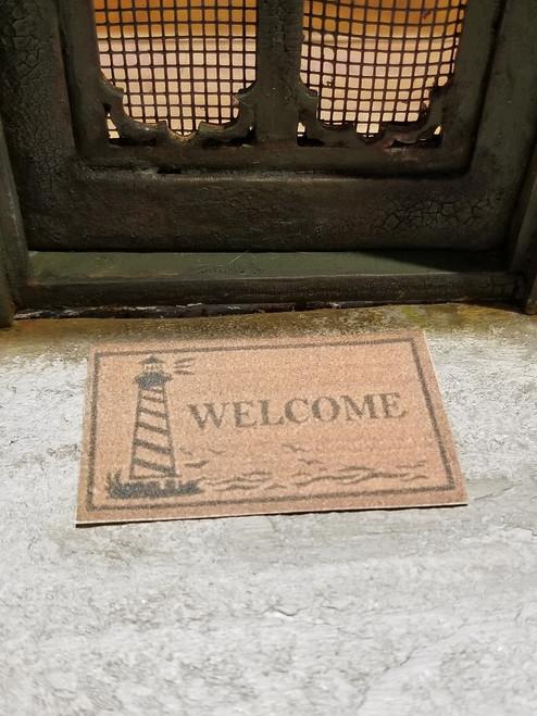 Welcome Mat - Lighthouse