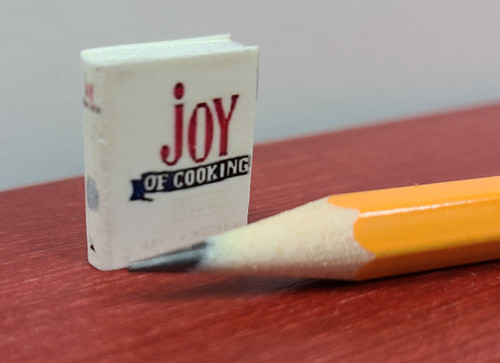 "Miniature ""Joy of Cooking"" Book"