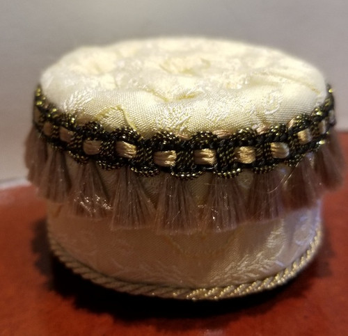 Judith Blondell Miniature Tufted Ottoman