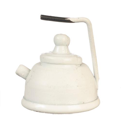 Miniature White Tea Kettle