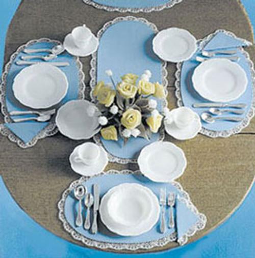 Miniature Table Dinnerware 5-pc. Place Settings