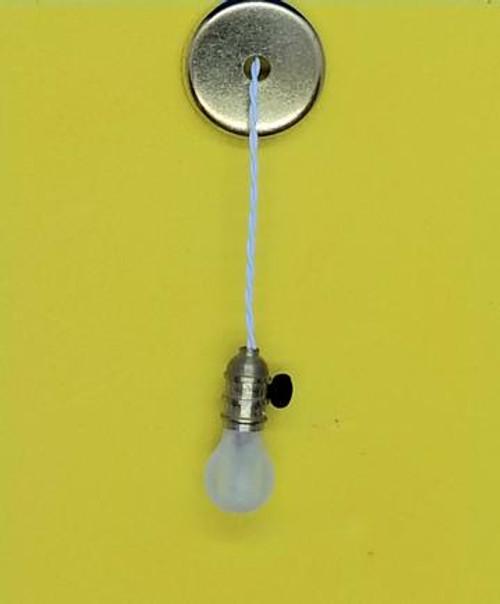 Miniature Bare Bulb with Key