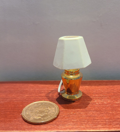 1/12 Scale Bedroom Table Lamp
