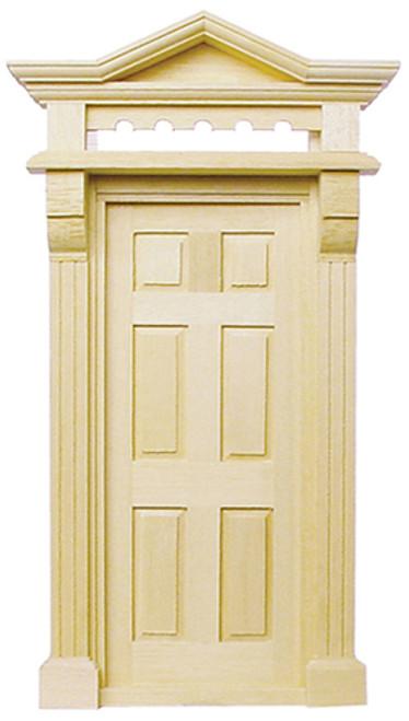 1/24 Scale Miniature Victorian Door