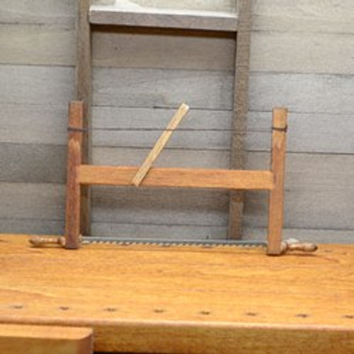 Miniature Carpenter's Frame Saw