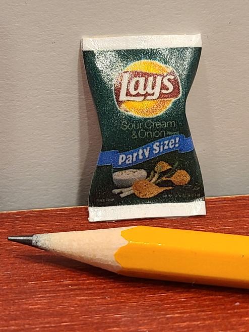 Miniature Bag of Chips - Sour Cream & Onion