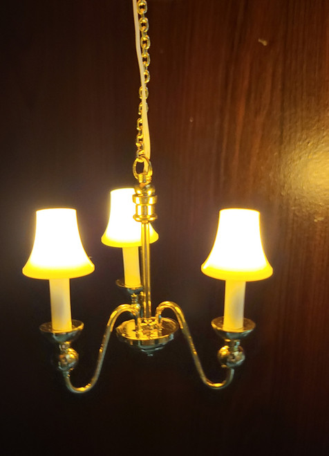 Miniature LED Battery Powered Chandelier