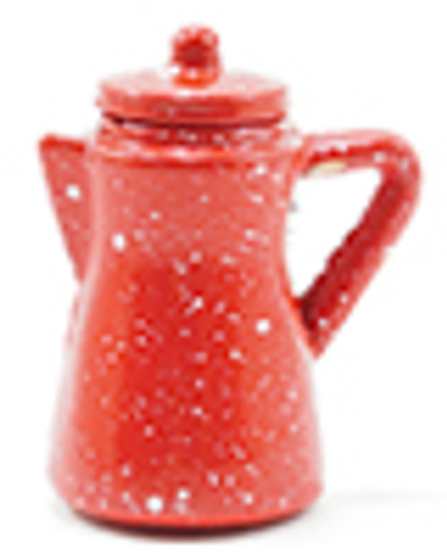 1/12 Scale  Red Coffee Pot
