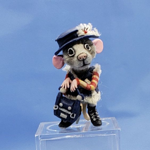 """Aleah Klay Character - Mouse in Heels(1 1/4"""" tall)"""