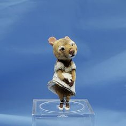 """Aleah Klay Character - Mouse in Marilyn Monroe Pose(1 5/16"""" tall)"""