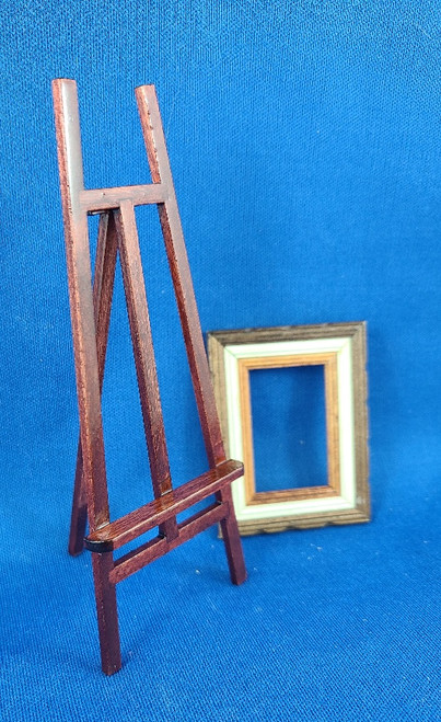 1/12 Scale Artist Easel with Frame
