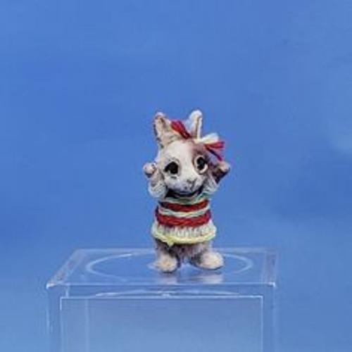 """Aleah Klay Character - Bunny (3/4"""" tall)"""