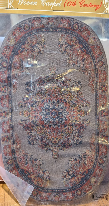 "Miniature Area Rug 8 5/16"" x 4 7/8"""