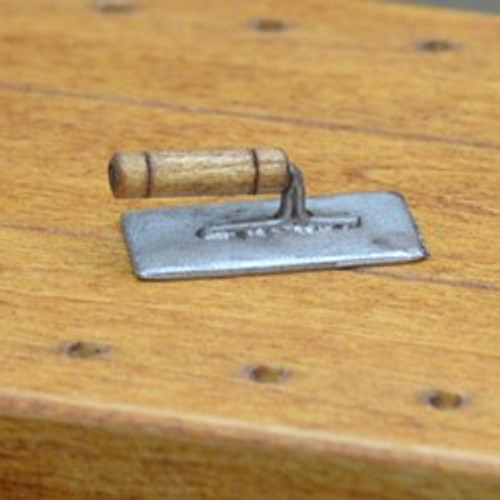 Miniature Cement Trowel by Sir Thomas Thumb